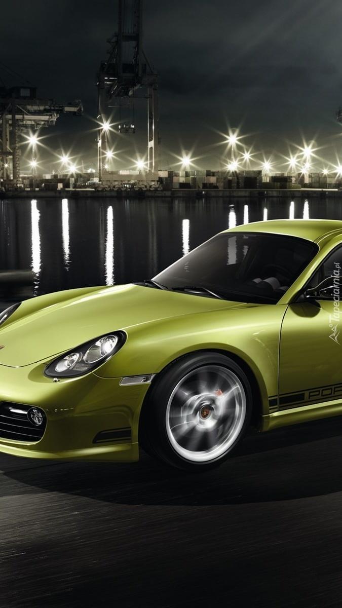 Oliwkowe Porsche Cayman R