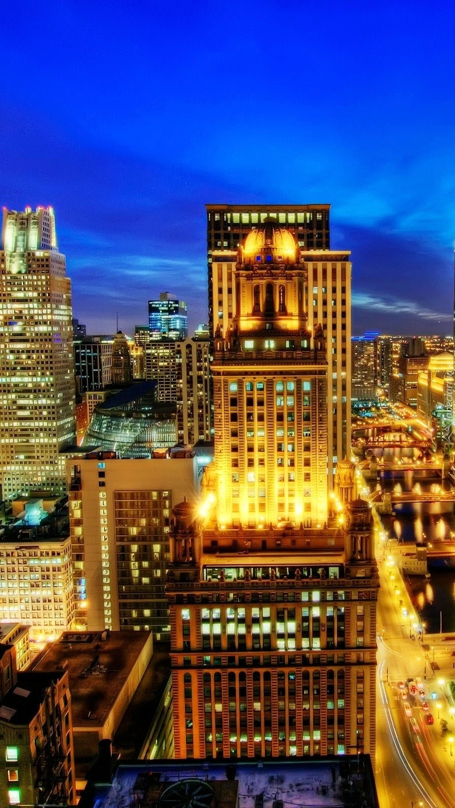 Oświetlone Chicago