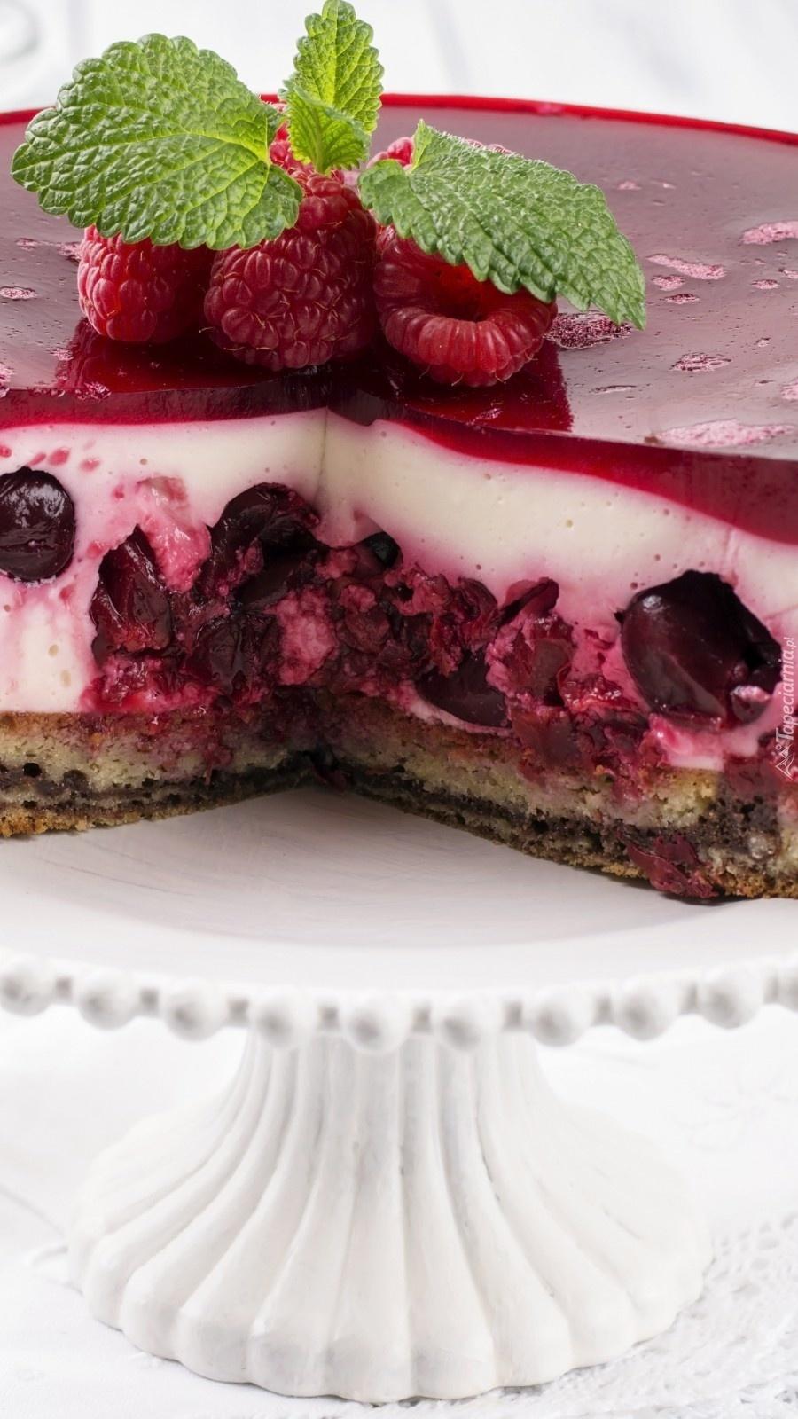 Owocowy tort