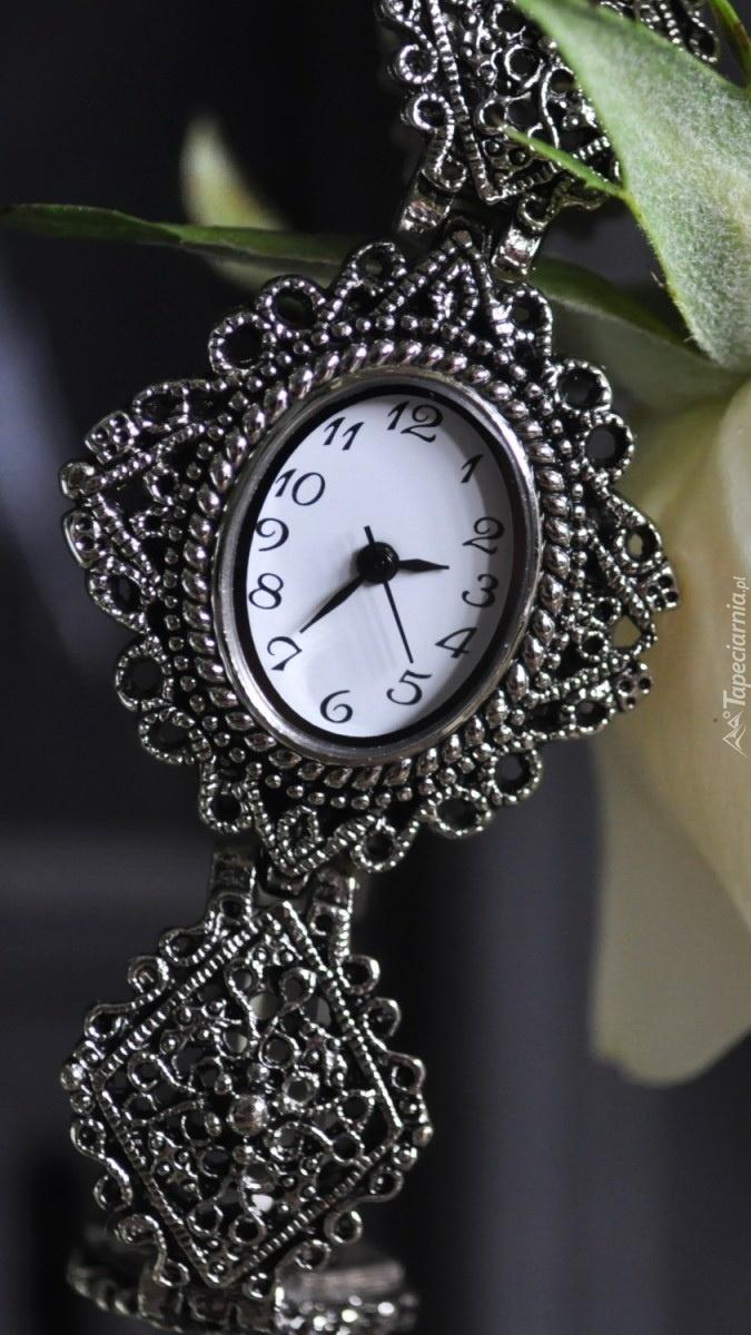 Ozdobny zegarek
