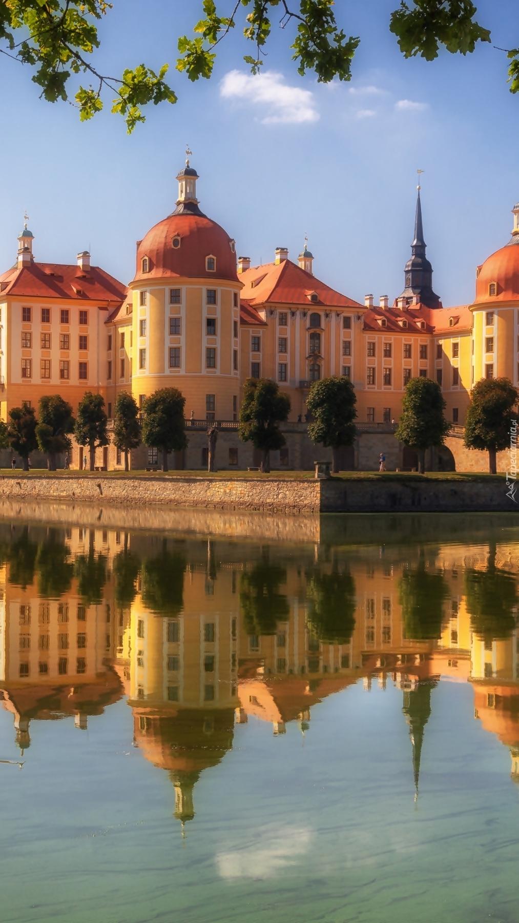 Pałac Moritzburg w Saksonii
