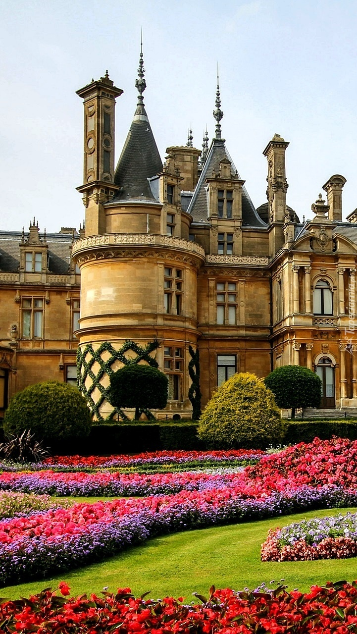 Pałac z ogrodem w Waddesdon