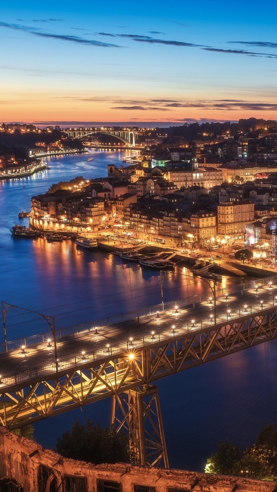 Panorama miasta Porto