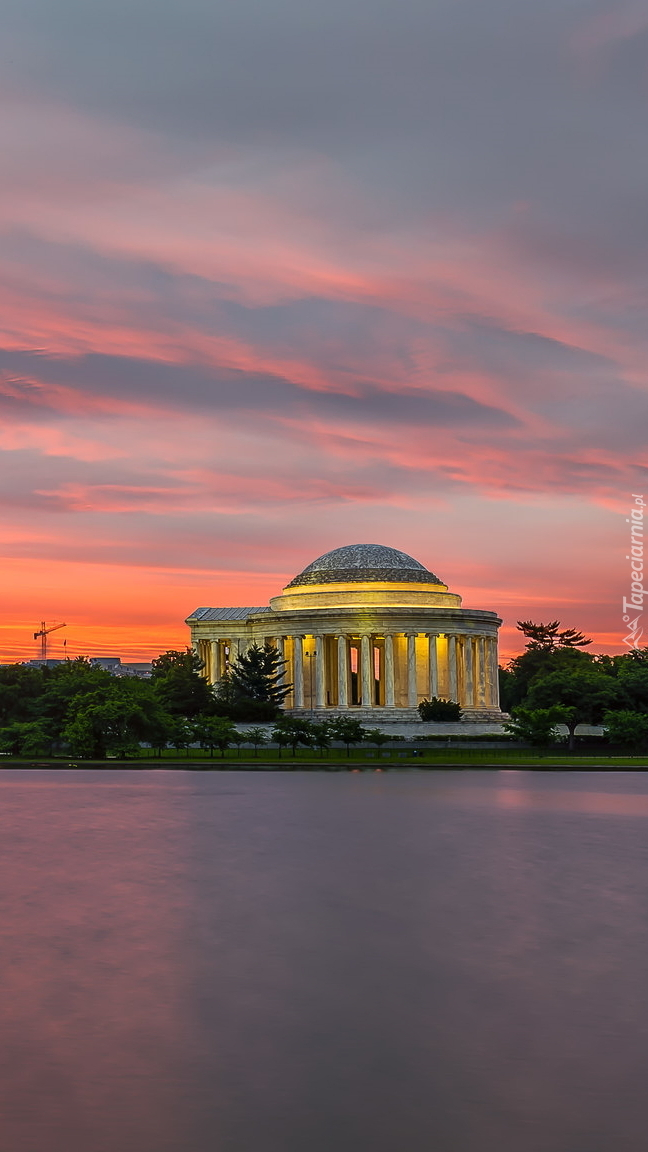 Panteon z pomnikiem Jeffersona w Waszyngtonie