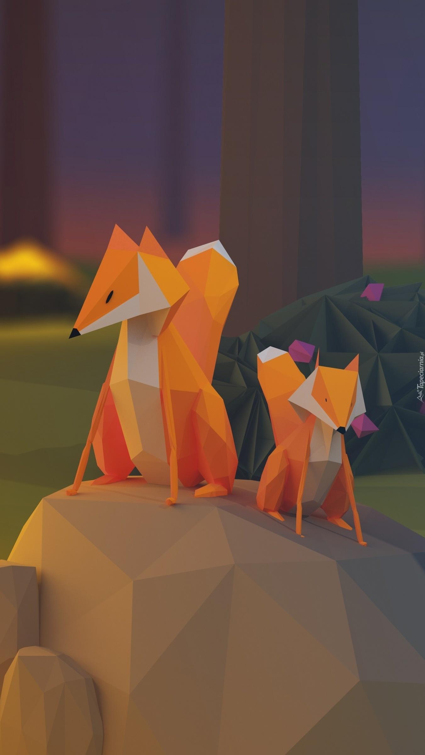 Papierowe lisy