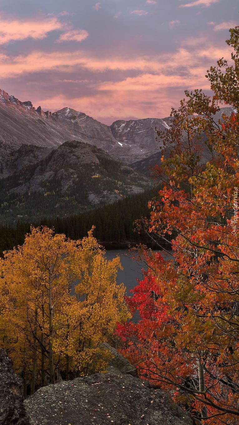 Park Narodowy Gór Skalistych jesienią