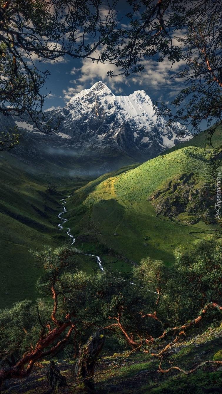 Park Narodowy Huascaran w Peru