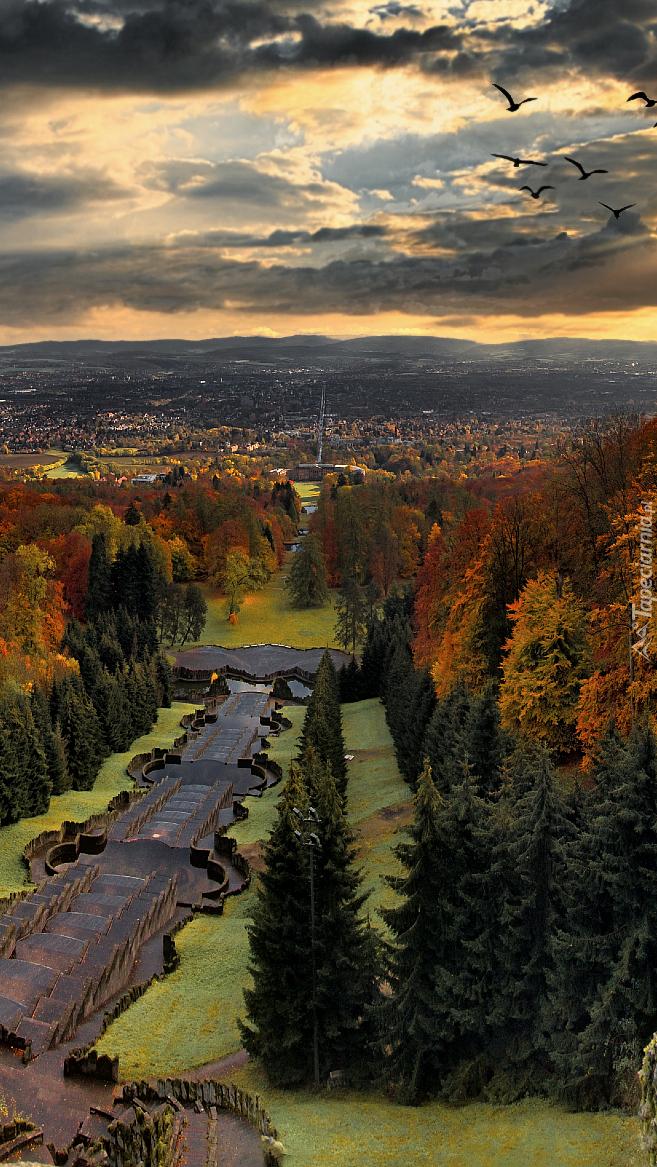 Park Wilhelmshöhe w Kassel