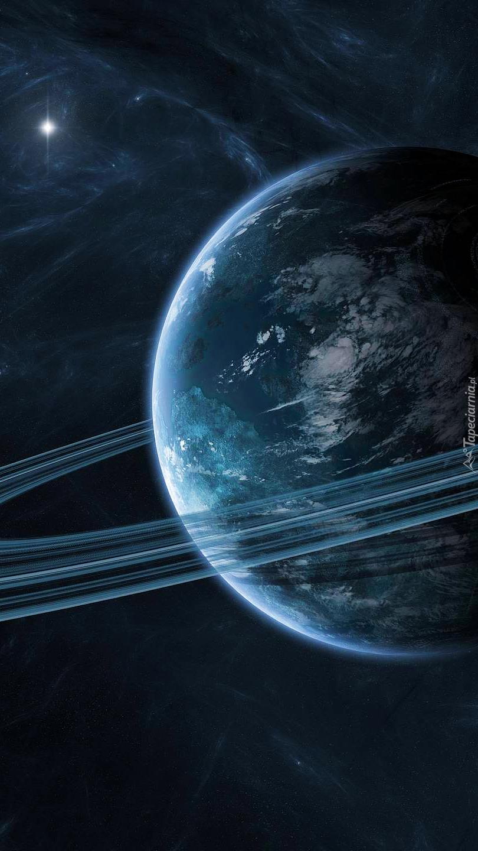 Pierścień dookoła planety