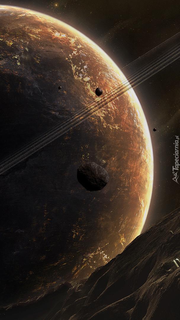 Planeta w zbliżeniu