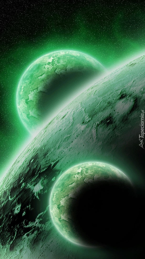 Planety na zielono