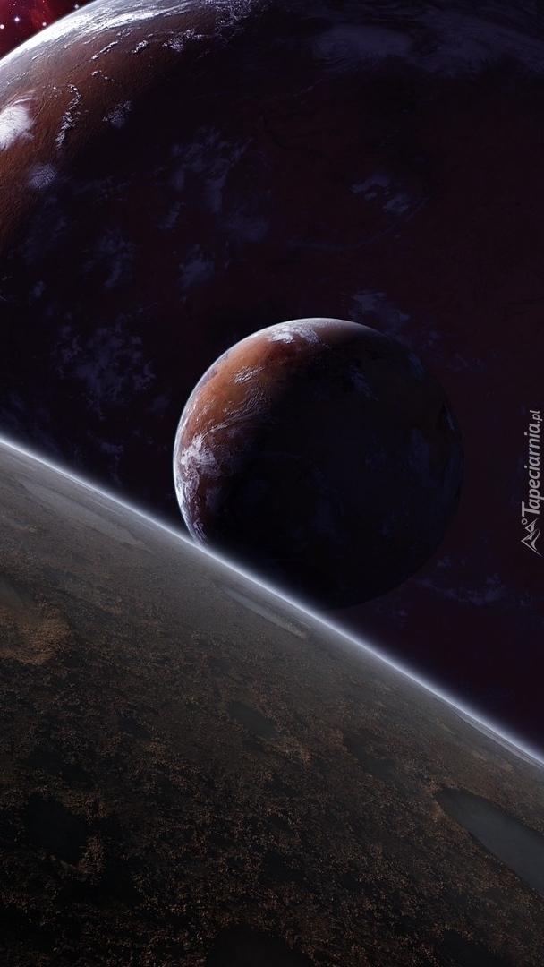 Planety w grafice 2D