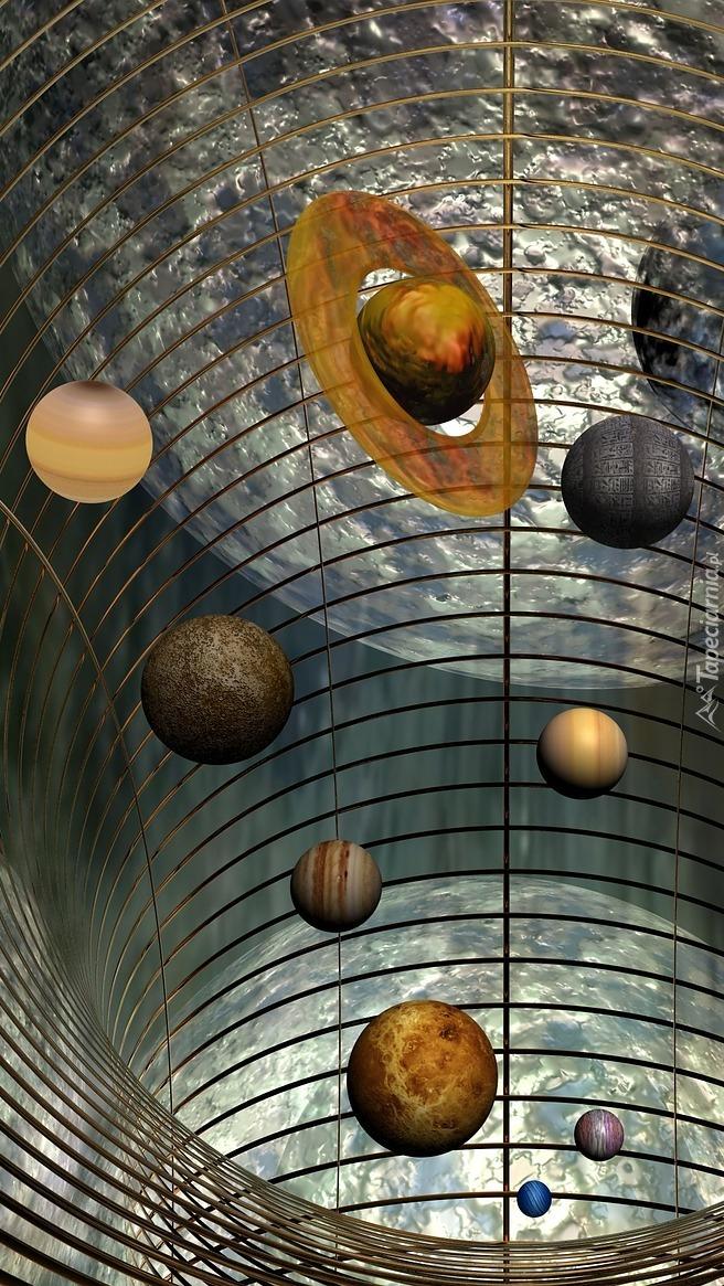 Planety w grafice