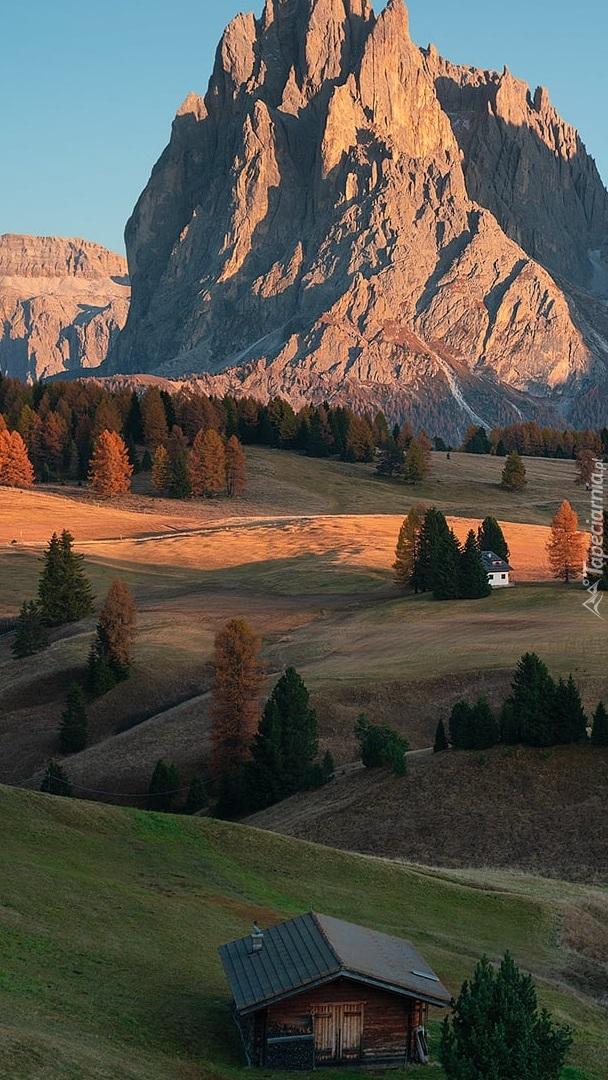 Płaskowyż Seiser Alm i góry Sassolungo