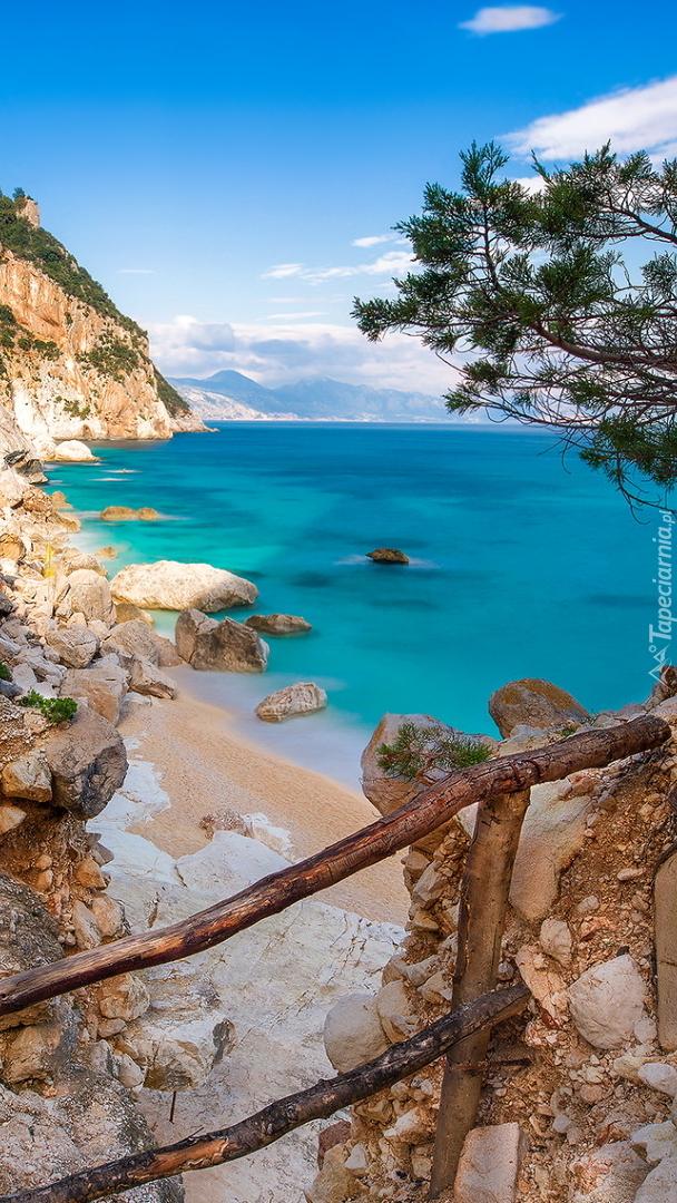 Plaża Goloritze na Sardynii