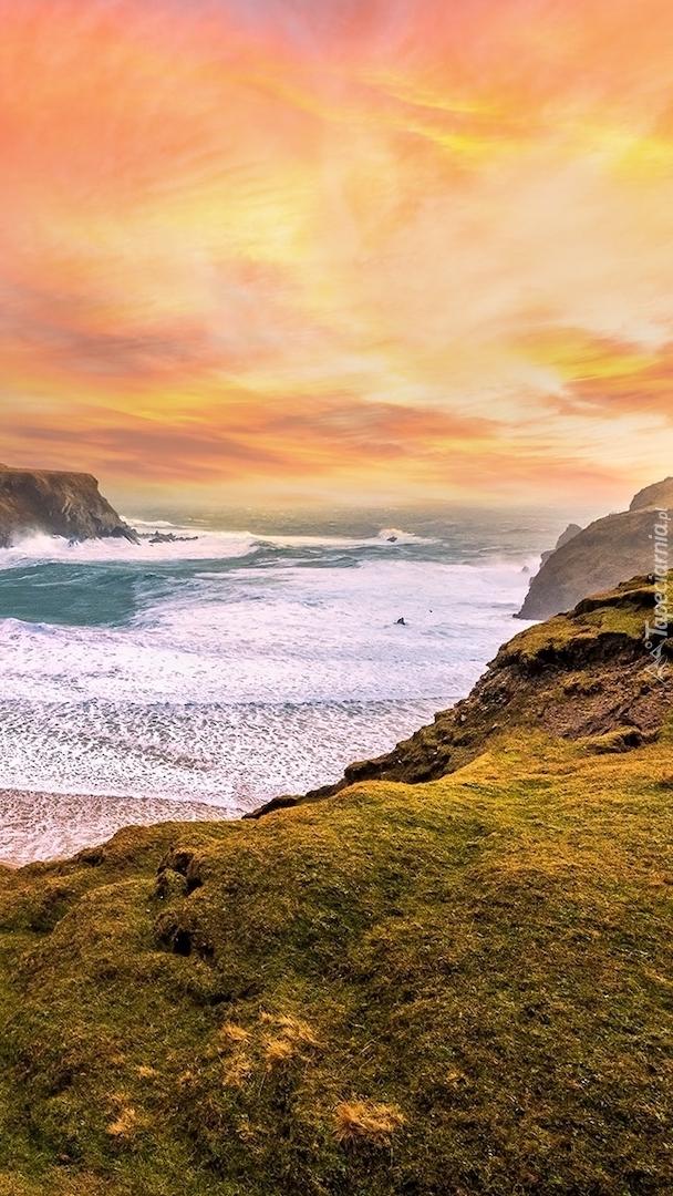 Plaża Silver Strand Beach w Irlandii