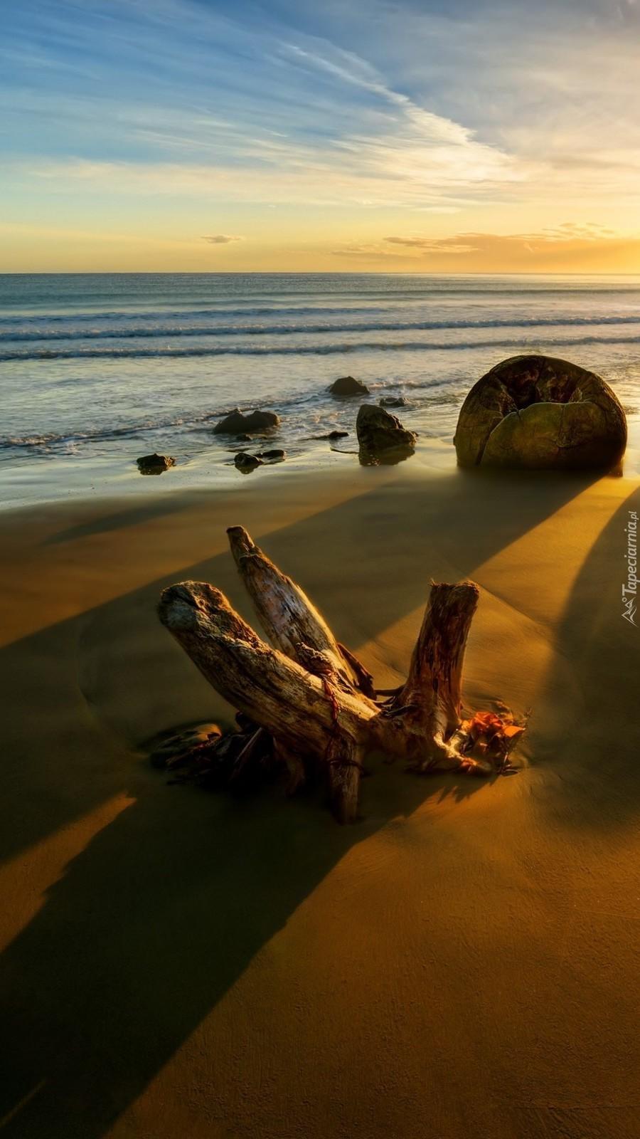 Plaża w Nowej Zelandii