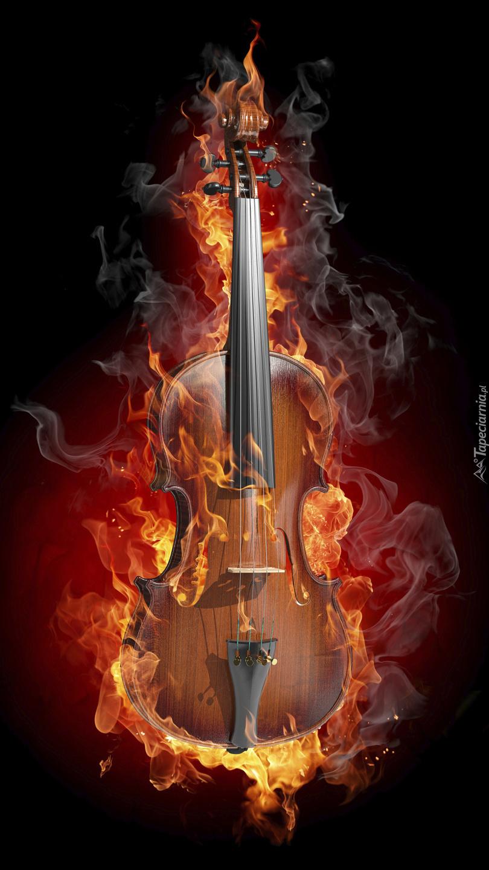 Płonące skrzypce