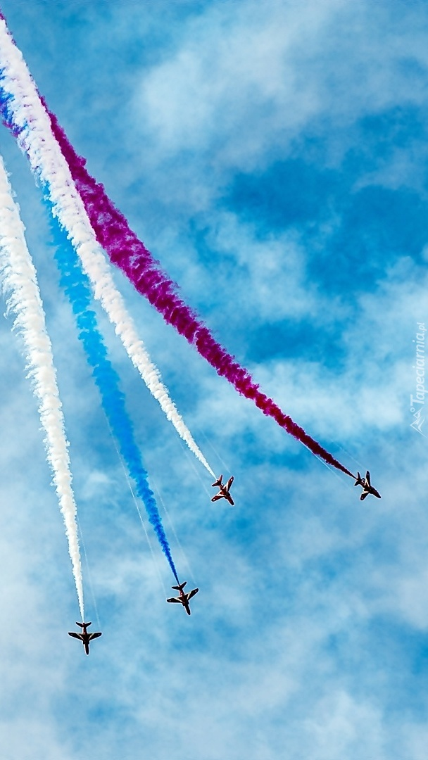 Pokazy akrobatyczne samolotów
