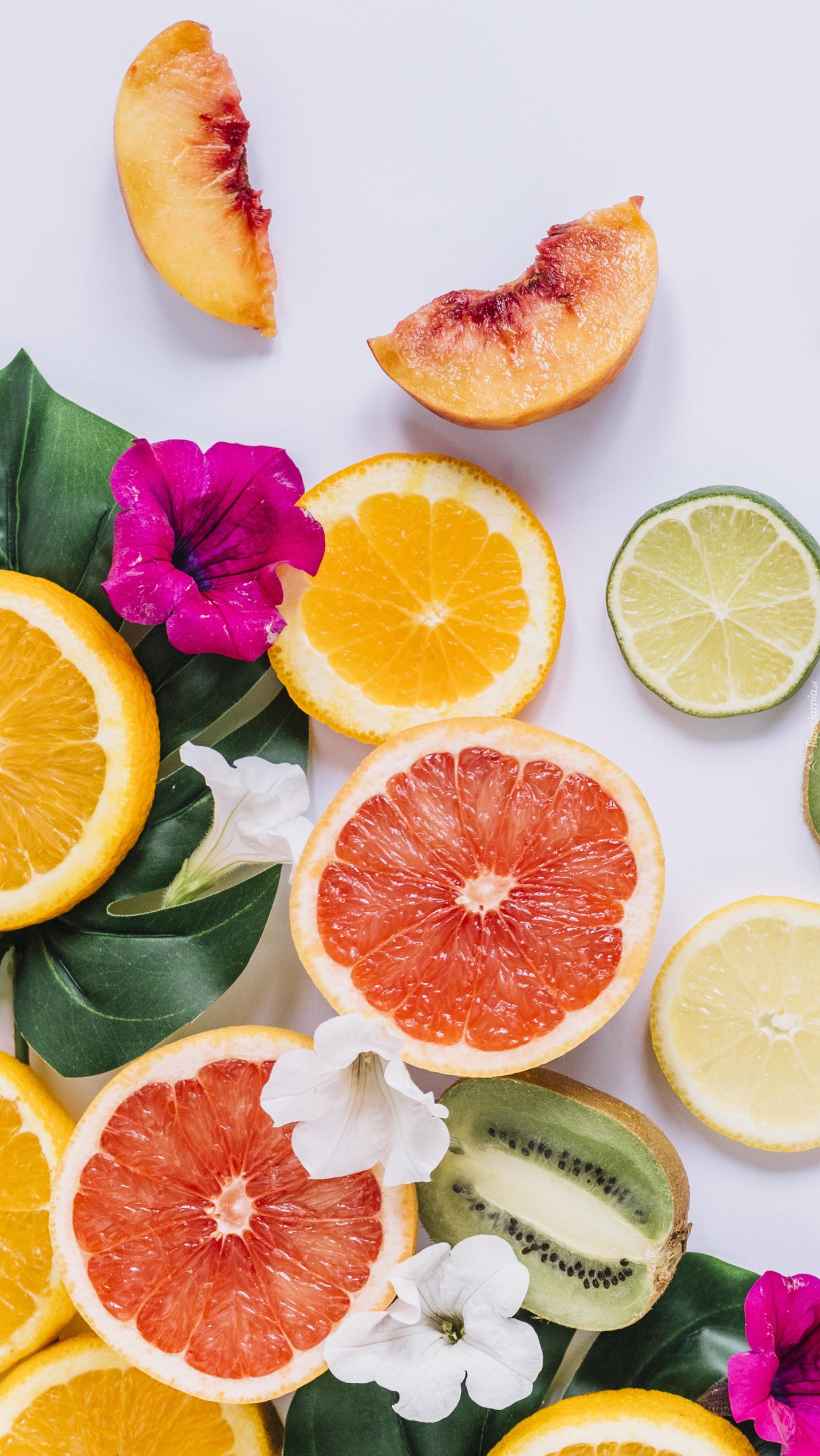 Pokrojone owoce
