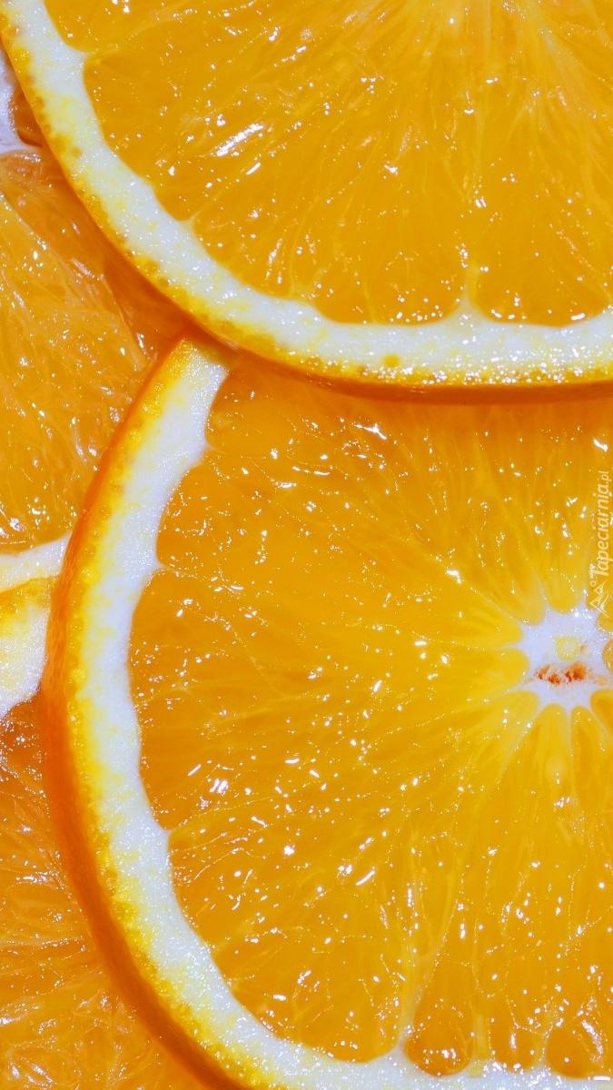 Pomarańcza w plastrach