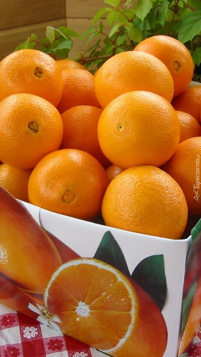 Pomarańcze w pudełku