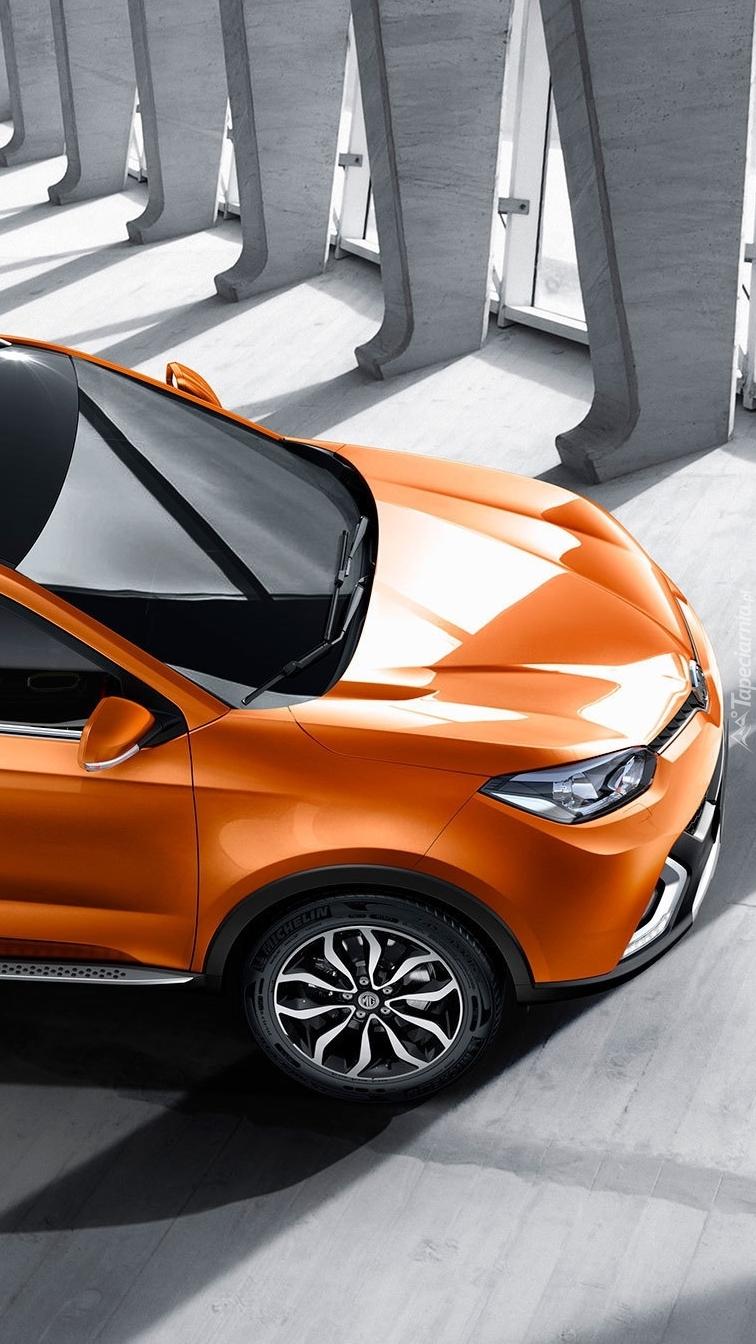 Pomarańczowy MG GS SUV