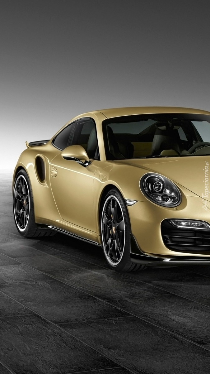 Porsche 911 Turbo Lime Gold