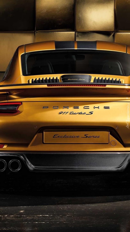 Porsche 911 Turbo S Exclusive Series tyłem