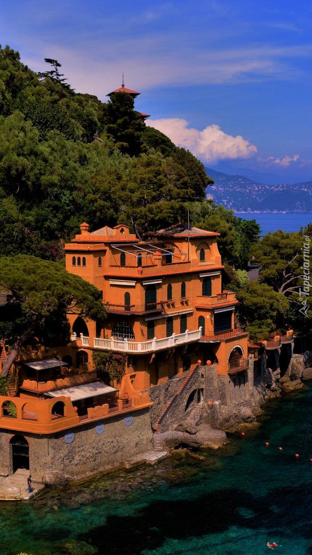 Portofino na Riwierze Włoskiej