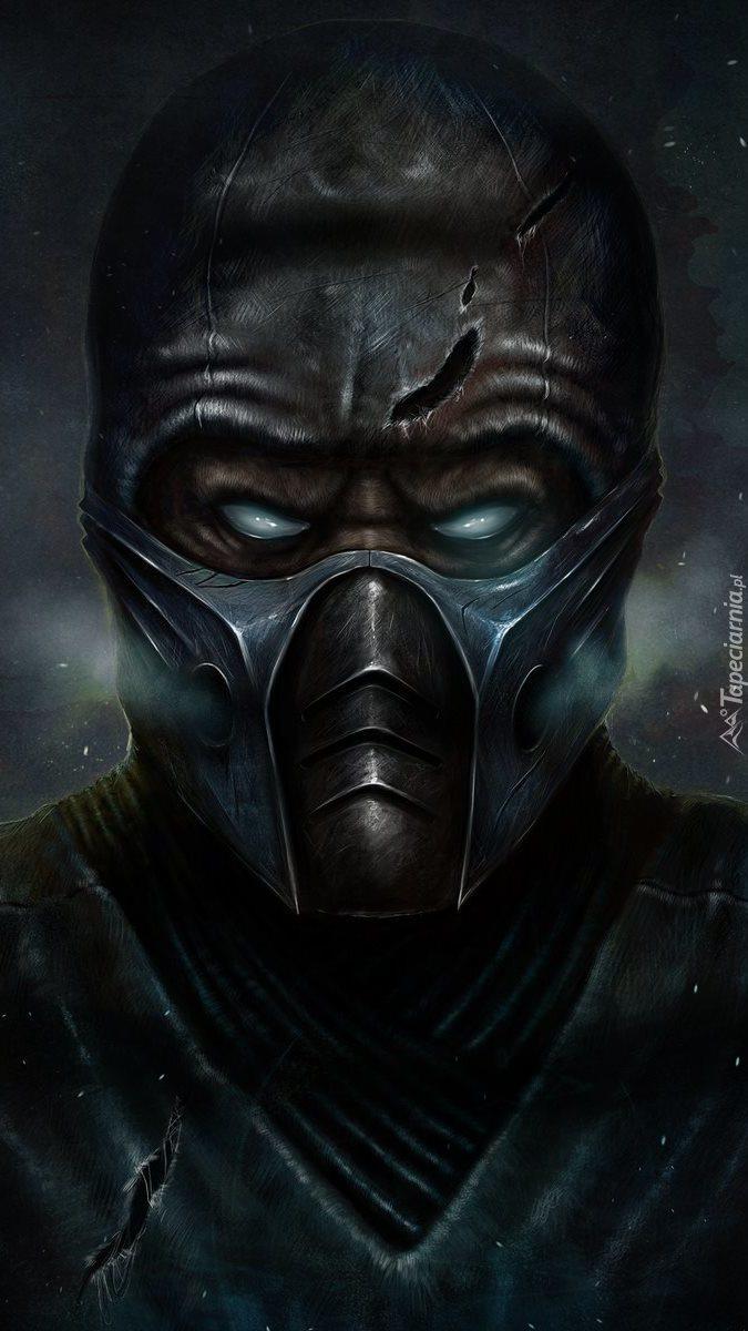 Postać Sub-Zero z Mortal Kombat