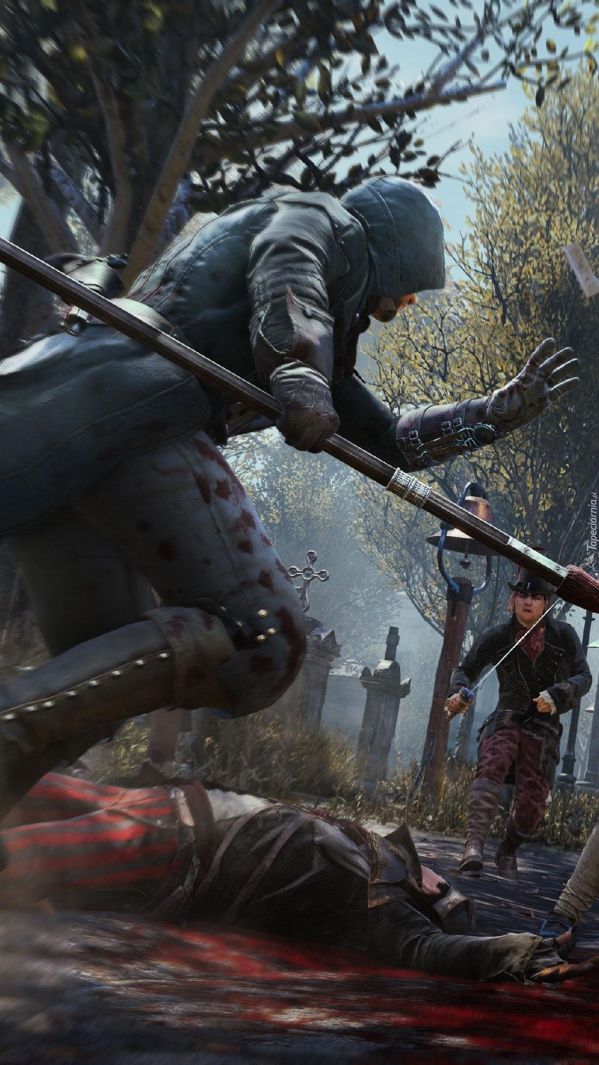 Postać z gry Assassins Creed