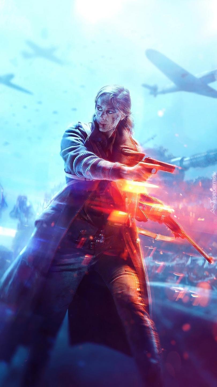 Postać z gry Battlefield V