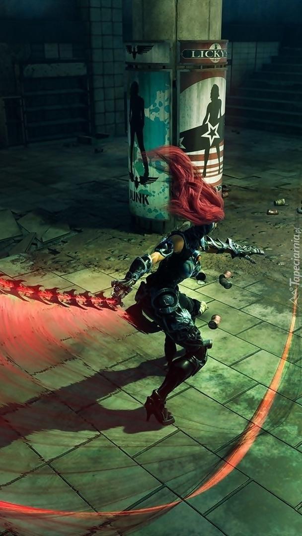 Postać z gry Darksiders 3