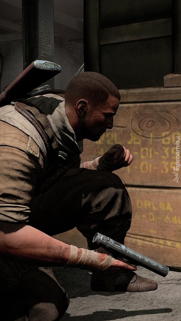 Postać z gry Sniper Elite III: Afrika