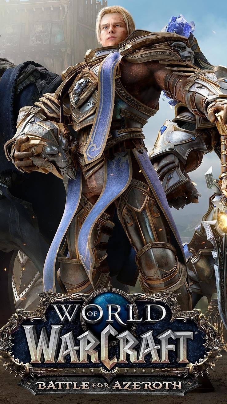 Postać z gry World of Warcraft Battle for Azeroth