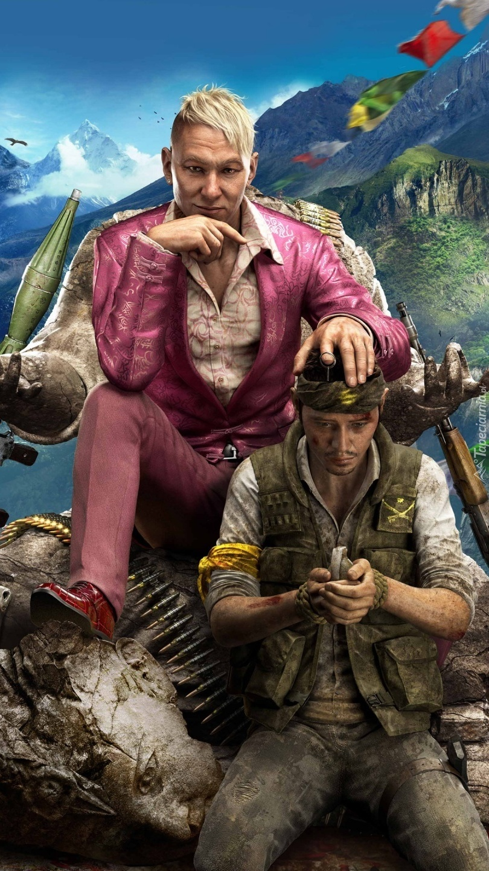Postacie z gry Far Cry 4