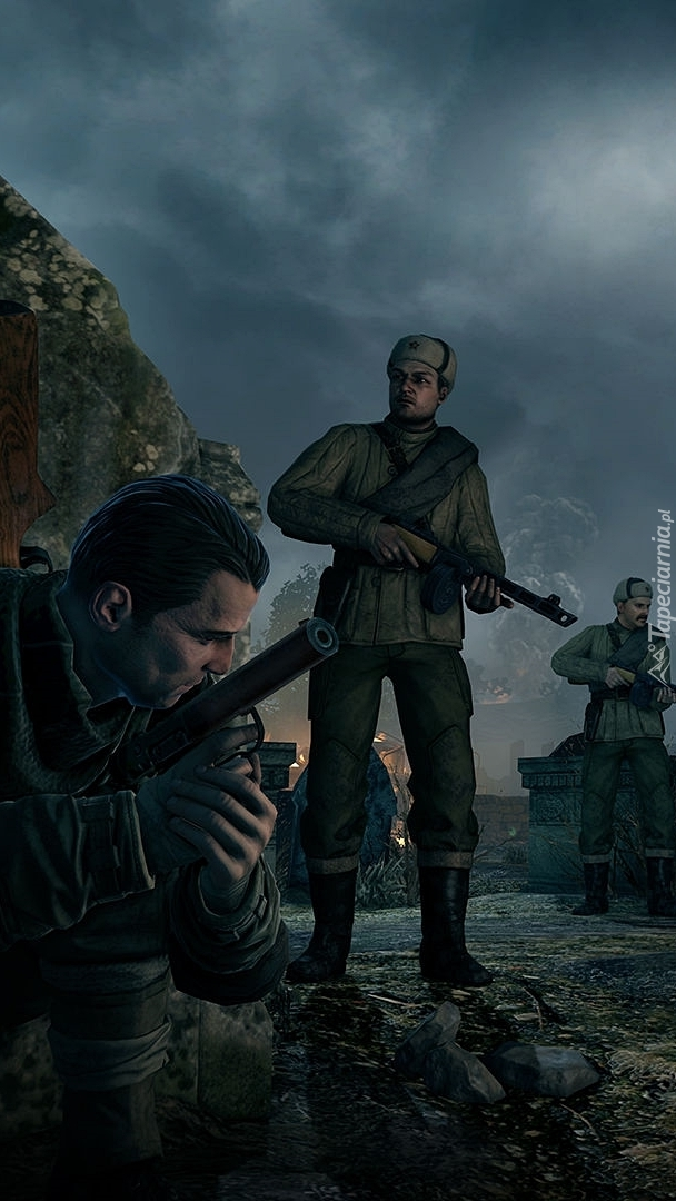 Postacie z gry Sniper Elite 2