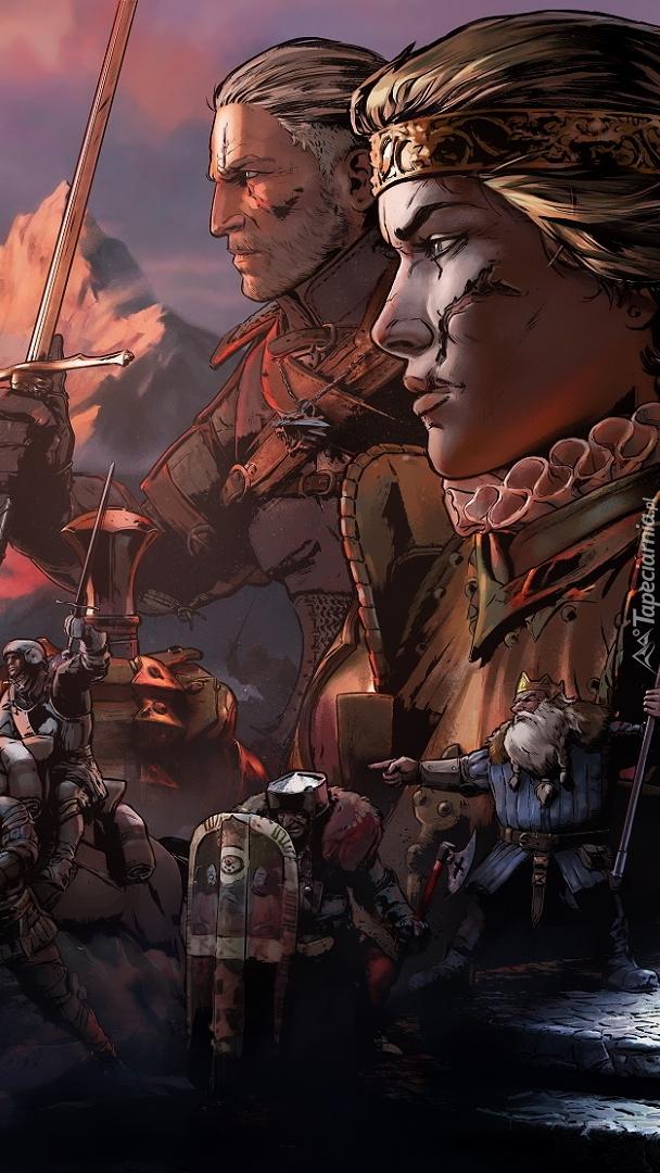 Postacie z gry Wojna Krwi Wiedźmińskie opowieści