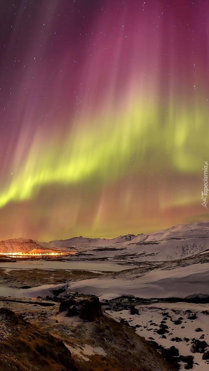 Poświata zorzy polarnej