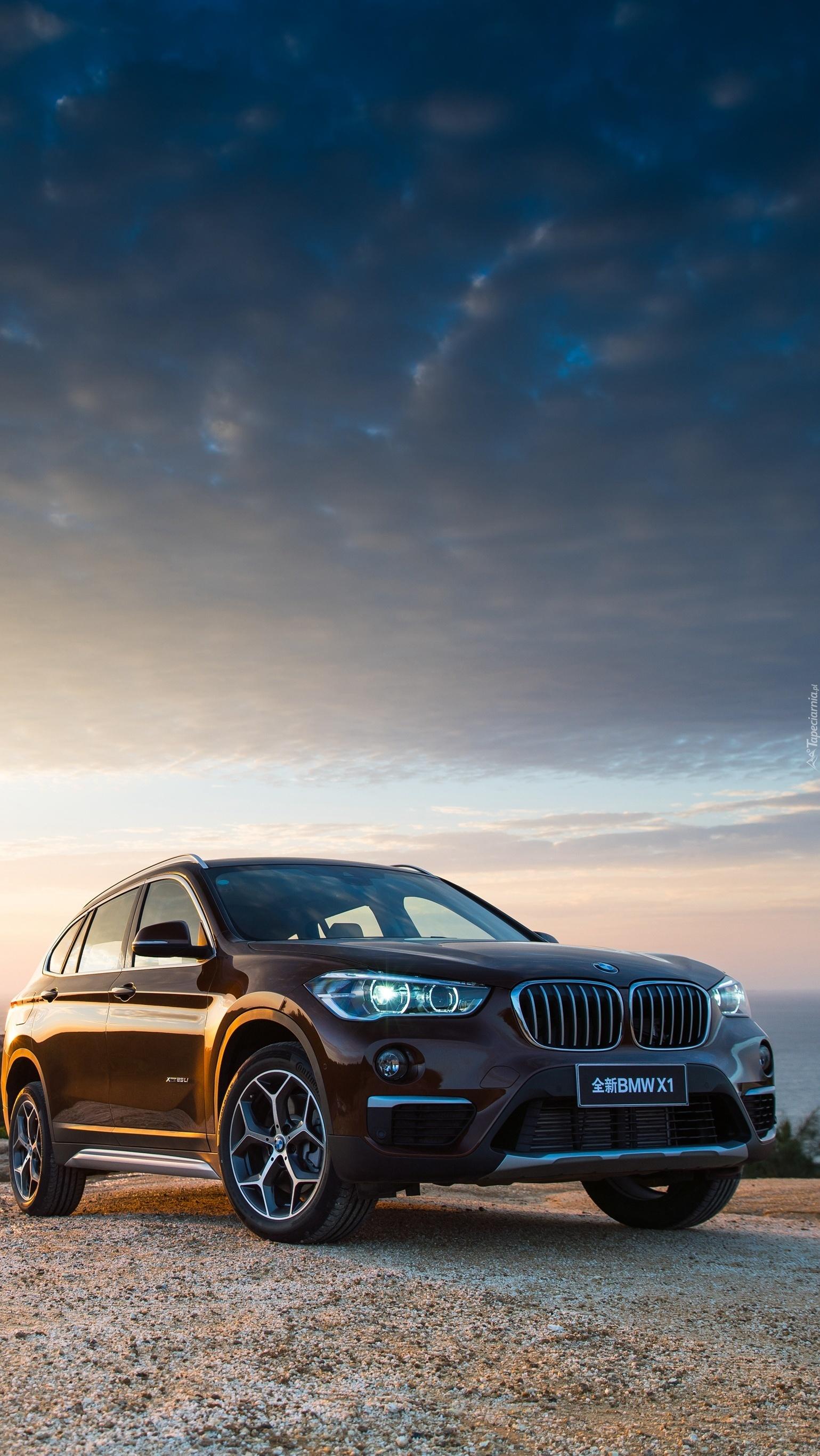 Pozostawione na drodze BMW x1