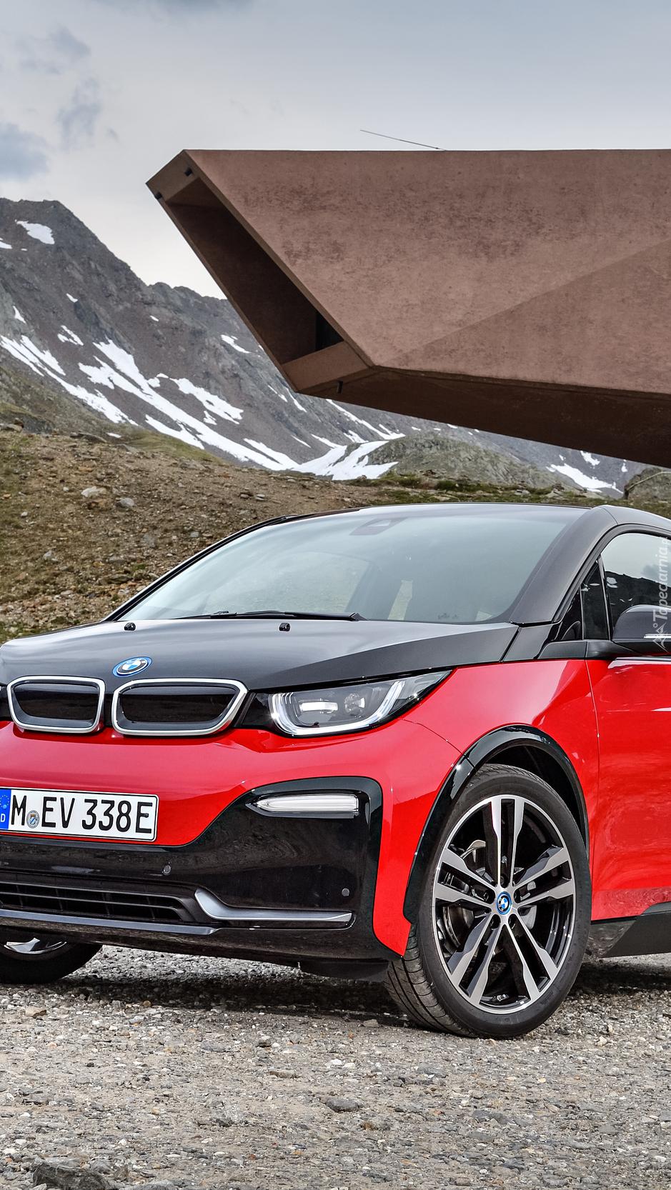 Przód BMW i3