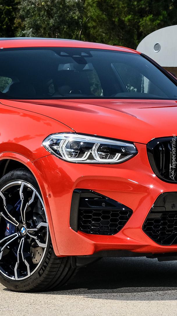 Przód BMW X4 M