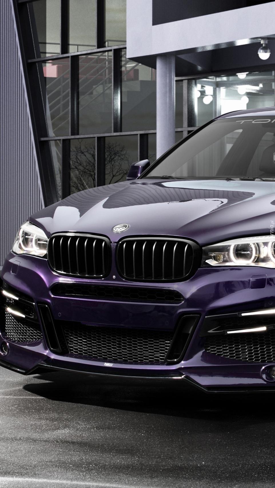 Przód BMW X6 F16