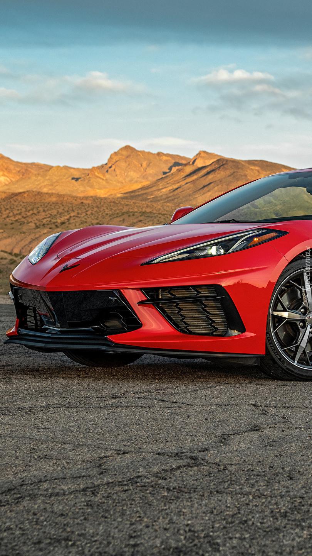 Przód Chevroleta Corvette C8 Stingray