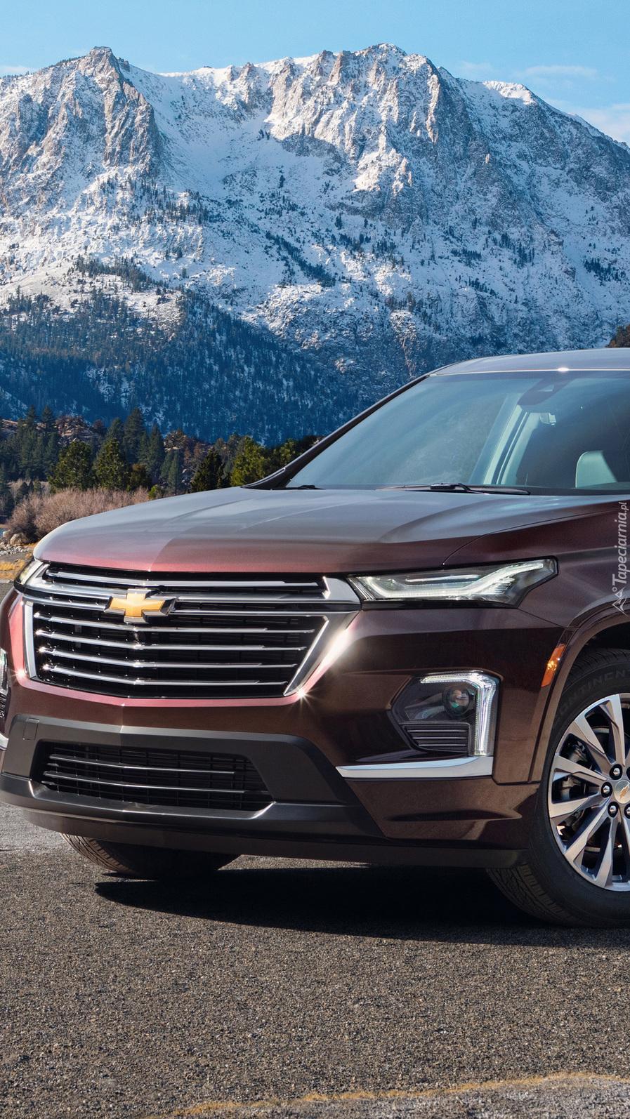 Przód Chevroleta Traverse