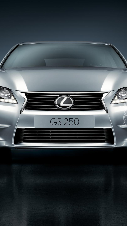 Przód Lexusa GS 250
