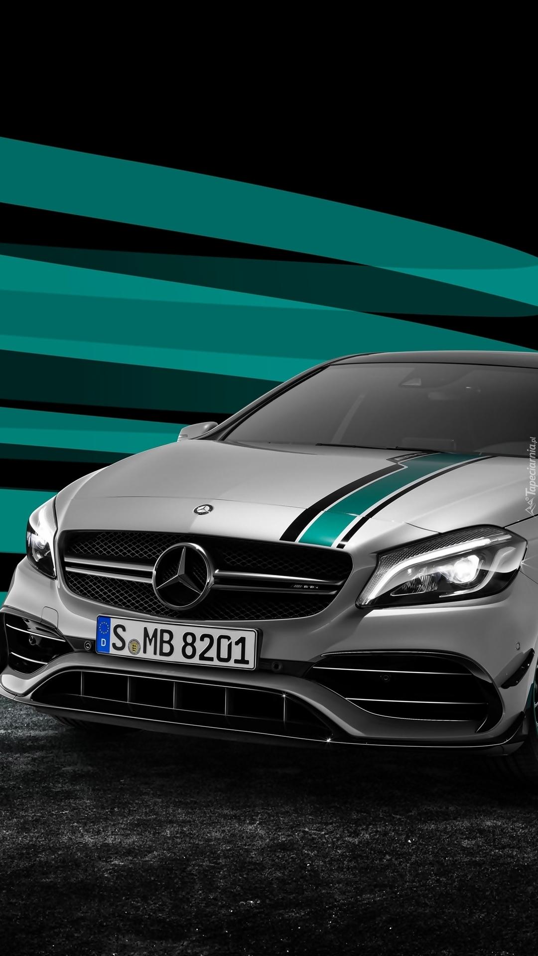 Przód Mercedesa AMG A5 Petronas