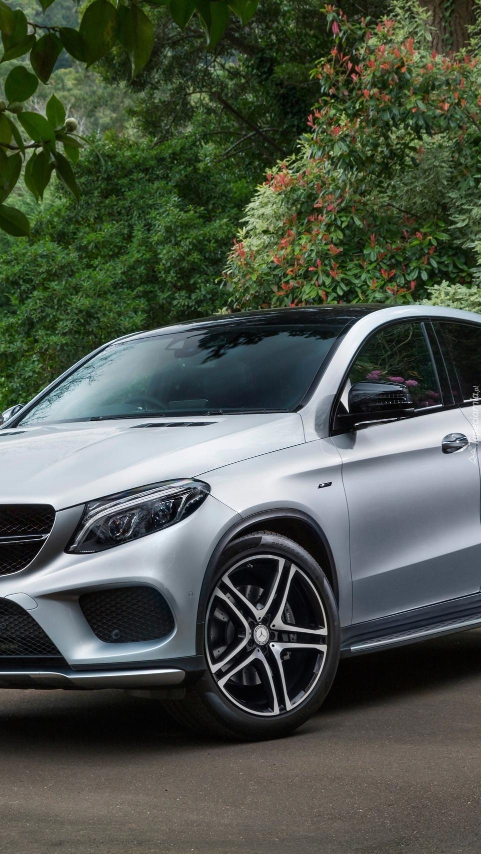 Przód Mercedesa GLE AMG
