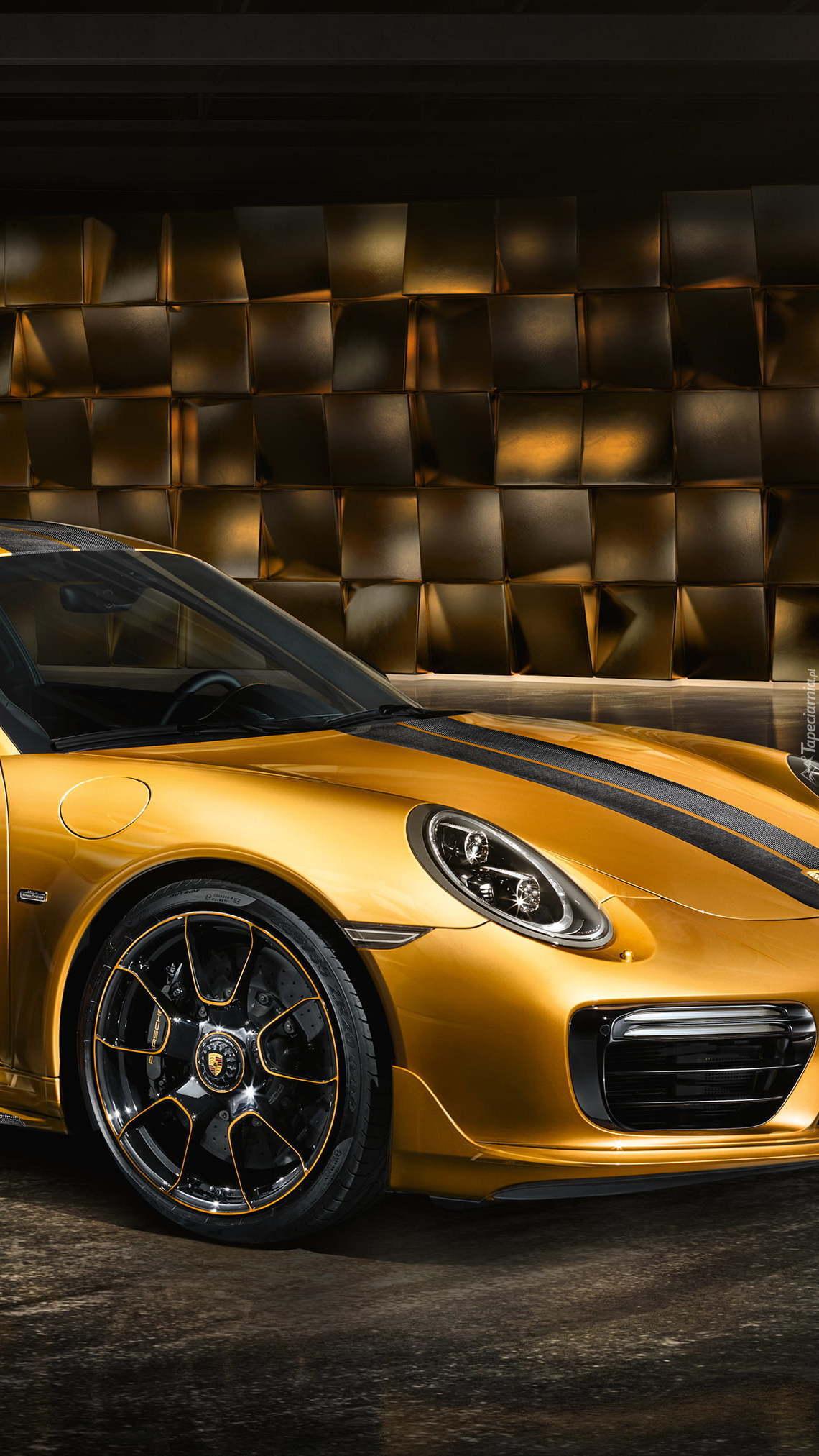 Przód Porsche 911 Turbo S Exclusive Series